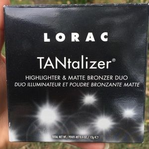 LORAC tantalizer highlighter and bronzer duo